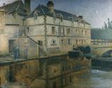 Moulin de la Ville, Quimperle by Norman Garstin 1901