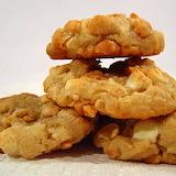 ^ White chocolate macadamia cookies