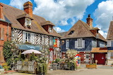 Half-Timbered-Houses-Beuvron-En-Auge-France-jigsaw-puzzle-in ..