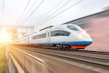 High-speed-Rails-The high-speed rail is built for long-distance