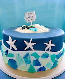 Beach lover's cake @ Cake and Islands