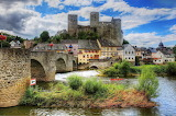 Runkel castle, Germany,