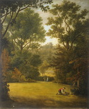 Cawthorne Church, from the Park by British School