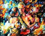 #Tango of Love by Leonid Afremov