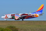 """""""Illinois One"""" Southwest Airlines Boeing 737 N918WN"""