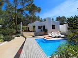 Modern white Ibiza villa