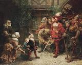 An émeute in 16th Century~ Charles Joseph Staniland
