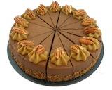 ^ Chocolate Pecan Praline Cake