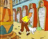 3 - Tintin  et  les cigares  du  pharaon