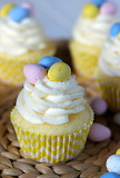 Lemon mascarpone Easter cupcakes