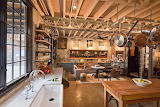 New York Carriage House Kitchen