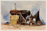 A Gypsy Encampment by William James Muller