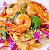 #Shrimp Cashew Salad