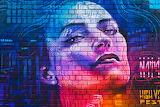 Graffiti face