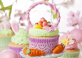 Easter, eggs, candy, food, holidays, little cakes, confectionery