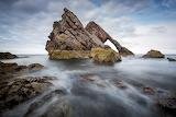 Bow-Fiddle-Rock near Portknockie Scotland