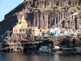 Port of Fira Greece