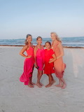 Pink On A Beach