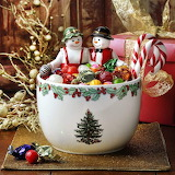 Christmas Candy Bowl