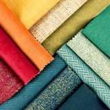 Fabric colorful textile