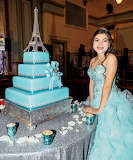 A 15 year old and her cake