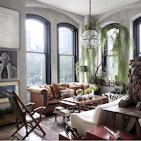 Stunning room via Elle Decor