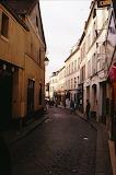 Europe - France - Paris - Narrow Street Scene
