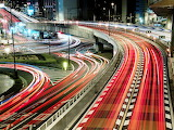 Japan-Highways-Car-Light-Trails-Photography-HD-Wallpaper--Nature