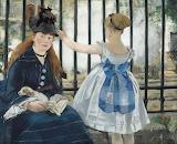 Edouard Manet, Le chemin de fer, 1873