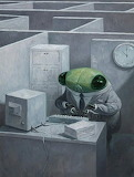 "Art tumblr lustik Cicada ""Shaun Tan"" 2"