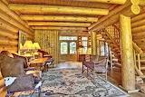 Wisconsin lakeside cabin 106 entryway
