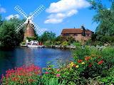 Hunsett Mill Norfolk - England