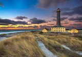 The Grey Lighthouse, Skagen, Denmark