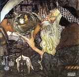 """""""Fairy Tales"""" tumblr wishingwellfariytales Merlin """"Edmund Dulac"""""""