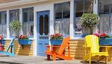 Door-windows-chairs-flowers