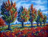 ^ Autumn Apple Orchard ~ Mary Jane Erard