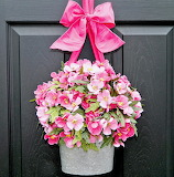 Pink door bouquet