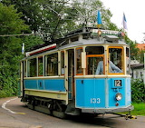 Vintage tram in Gothtenburg