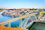 Bridge Over Porto Canal Portugal