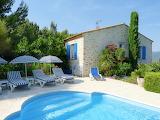 Rustic stone villa in Provence, France