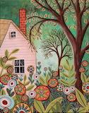 Cottage Garden - Karla Gerard