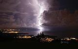 Catatumbo lightning over Zulia. Venezuela