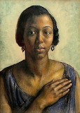 Pearl Johnson by Laura Knight,