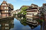 Strasbourg Alsace France Canal Summer
