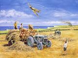 Haymaking 1940 - Trevor Mitchell