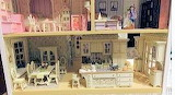 First and Second Floor of Dollhouse by Pat Harman
