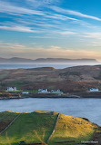 Puzzle..Overlooking Tawny Bay, Kilcar, with the Sligo Hills in d
