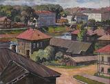 Железняк Н.В. Красные крыши, 1968