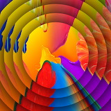 Color-concentric-discs