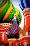 Colorful Onion Domes